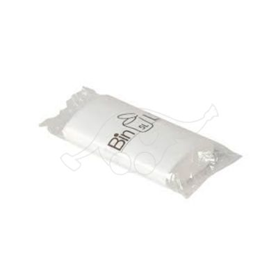 Garbage bag BinLine  5L white 20/roll 340x390x0,010mm