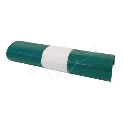 Garbage bag LD Extra 150L black/green 5 pcs/roll