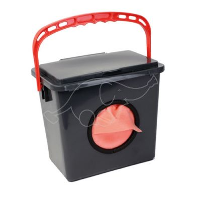 Dispenser Just Once Cloth 6L, Red handle