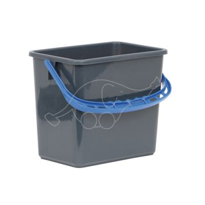 Bucket with Blue handle 6L