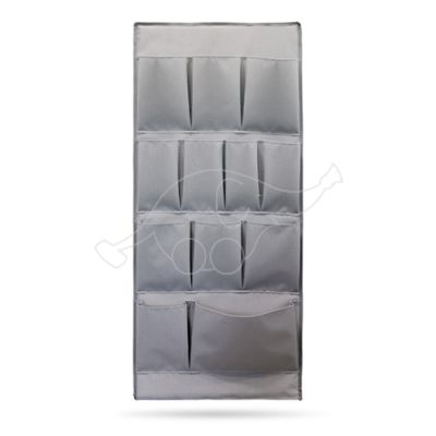 Side plastic panel with pockets grey Green Hotel