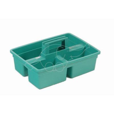 Plastic tool rack green