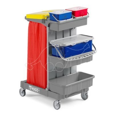 Trolley Magic System 610 Basic grey