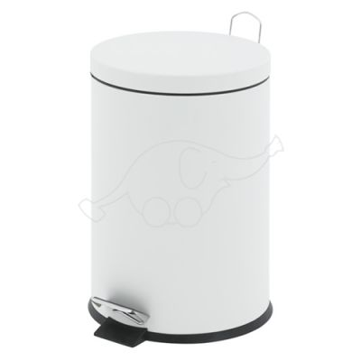 Pedal Bin, 30L, White V-part
