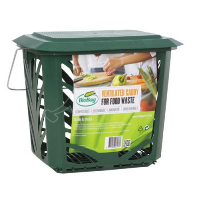 Waste bin BioBag MaxAir for compostable waste 10L