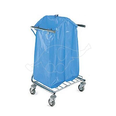Trolley Dust 2 x120 L squared chromed trolley