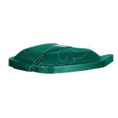 Lid for garbage can Rubbermaid 100L, green