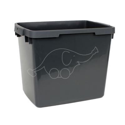 Bucket Activa 23L squared, grey (handle 625055)