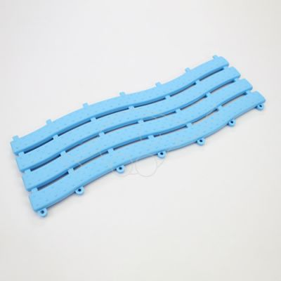 Wet area mat Ultima light blue, width 58cm