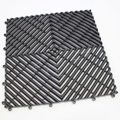 Wet area mat Modena 10 mm black