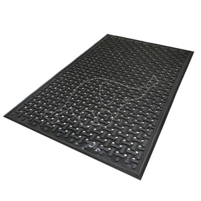 Töökohamatt Comfort Flow 83x140 cm must