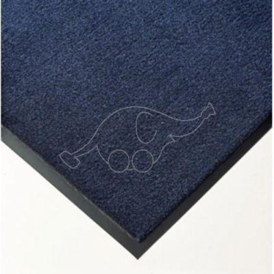 Entrance carpet Solett 90cm blue