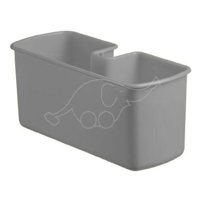Korv plastik Nick käru käepidemele, hall