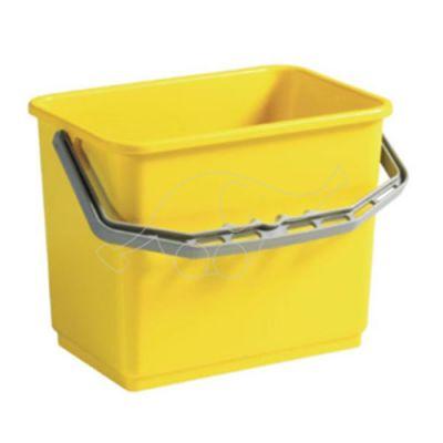 Plastic bucket 4L  yellow