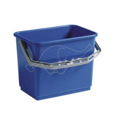 Plastic bucket 4L  blue