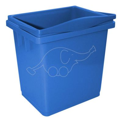 Bucket 4L blue with integrated handle
