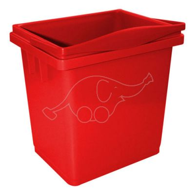 Bucket 4Lred with integrated handle