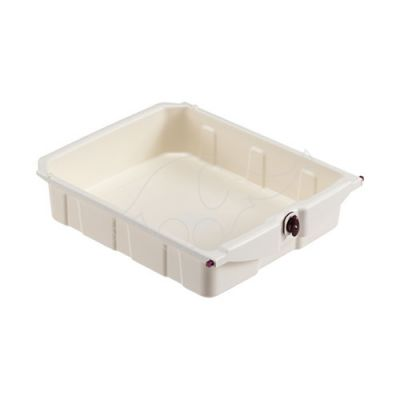 10-litre drawer with key (35x42x10cm)