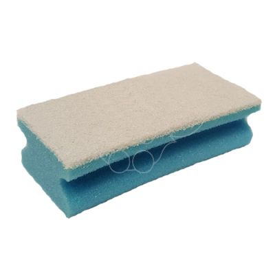 Cleaning washrag blue/white 150x70x45mm fine
