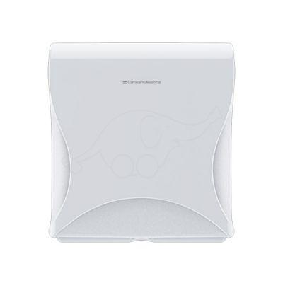 BulkySof Essentia MiniJumbo Toilet Tissue Dispenser, white