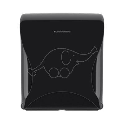 Essentia Maxi Jumbo Toilet Tissue Dispenser, black