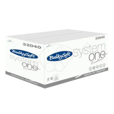 BulkySoft salvrätik System One Excellence 2-kihil, 4000tk/k