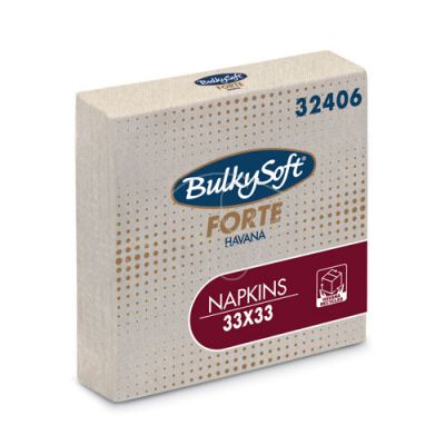 BulkySoft Forte Havana salvrätik 33x33 2-kih 2000/kast