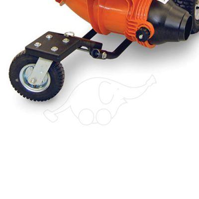 Caster wheel for blower