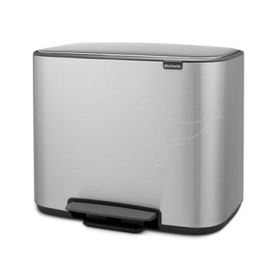 Brabantia waste bin 36L Bo, matt steel fingerprint proof