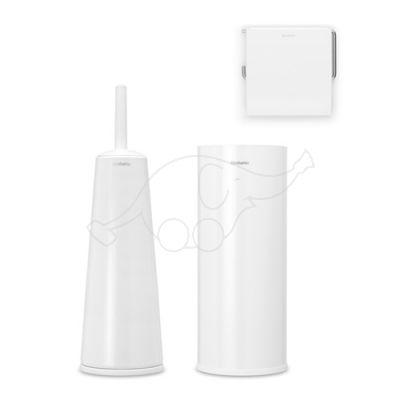 Brabantia toilet set 3pcs, white