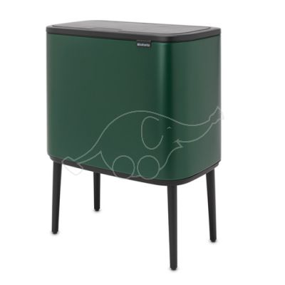 Brabantia prügikast Bo Touch Bin prügikast 3x11L, roheline