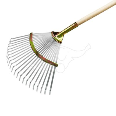 Professional leaf rake W 45cm metal (handle 5010)