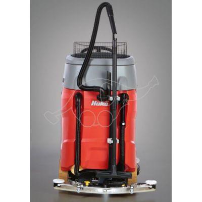 Hand-held vacuum tool incl. tool holder