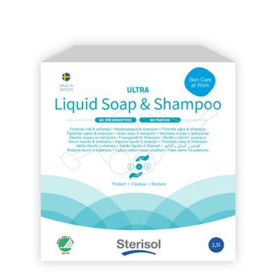 Sterisol liquid soap 2,5L fragnance free