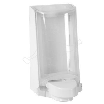 Sterisol hoidja 0,7L valge/läbipaistev kaas