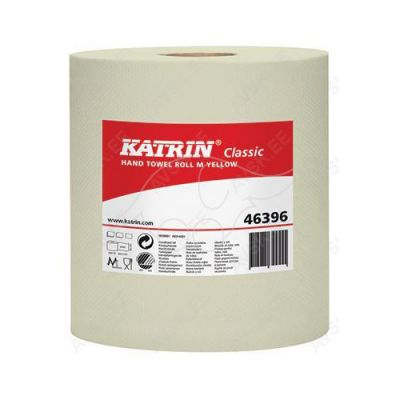 Katrin M1 1-ply hand towel 260m yellow