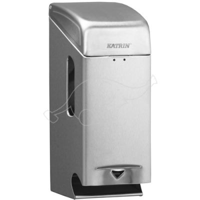 Katrin Toilet 2-roll dispenser steel