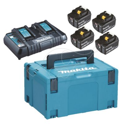 MAKITA POWER SUPPLY KIT WITH 18V BATTERIES AND CHAR