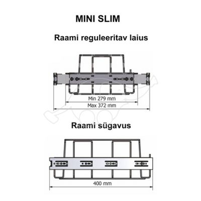 Longopac Flex Mini Slim W280xD400 mm
