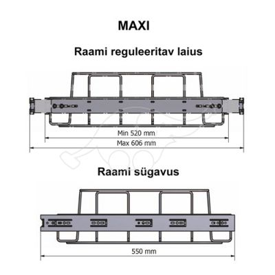 Longopac Flex Maxi 520x550mm