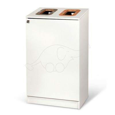 Longopac Bin Multi 2 W565xD440xH1000 mm white