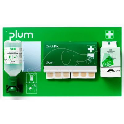 Plum First Aid Station