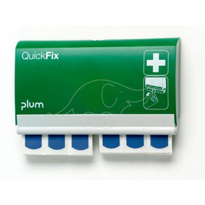 Plum QuickFix hoidja plaastritele +2pk sinised plaastrid met