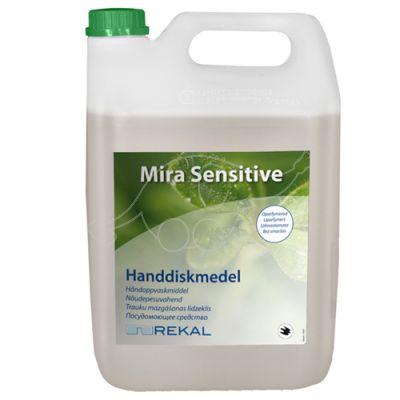 Rekal Mira sensitive 5L käsitsinõudepesuaine