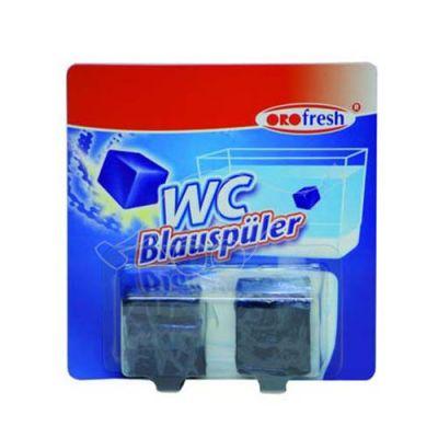 Activa wc-cistern blueblock 2x50g