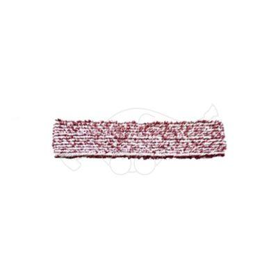 Sappax mikro/polüester 33cm põrandarätik valge/veinipunane