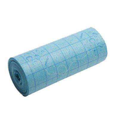 Vileda Quick n Dry sponge cloth roll 25cmx10m, blue