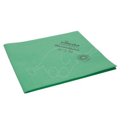 Vileda MicronQuick microfibre cloth green 40x38cm