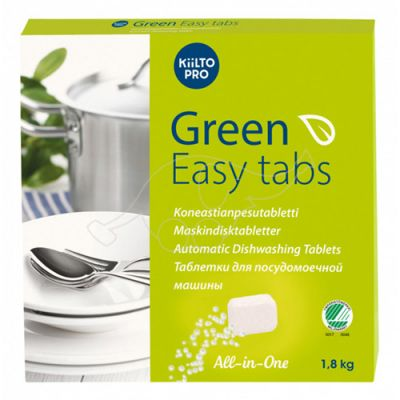 Kiilto MD2 Green Easy dishwashing tablets 100 pcs