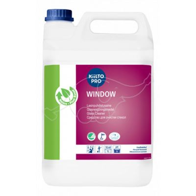 Kiilto Window cleaner 5L Cleaner for Glass Surfaces concentr